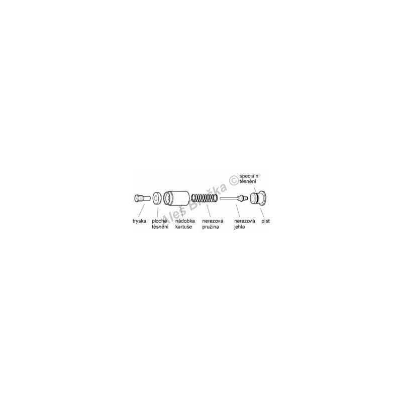 A2750/2 servisní souprava pro baterie RIVER R743 (náhradní díly)