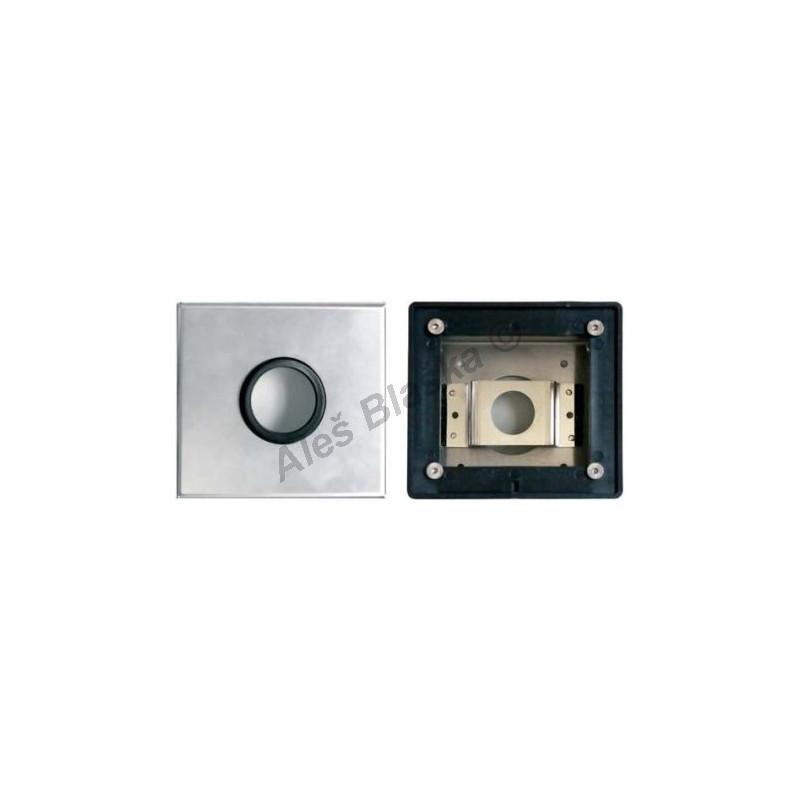 MCM 9985 nerezový box pro sprchové baterie - časová ,tlačná, tlačítková