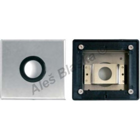 MCM 9905 nerezový box pro sprchové baterie - časová ,tlačná, tlačítková