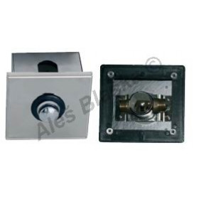 MCM 9905 C nerezový box pro sprchové baterie se sprchovou baterií - časová ,tlačná, tlačítková