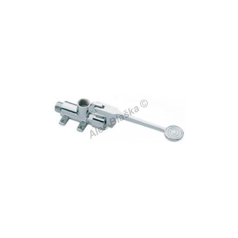 MCM 9057 jedno pedálový ventil pro studenou nebo předmíchanou vodu - nášlapná, pedálová, nožní baterie