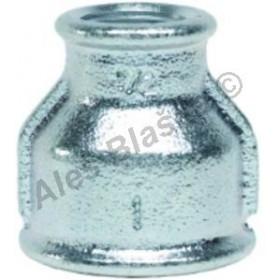 Nátrubek pozinkovaný redukovaný (vnitřní závity) GEBO Platinum - POZINK (hrdlo,mufna)