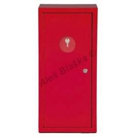 Skříňka se zámkem na hasicí přístroj vodní