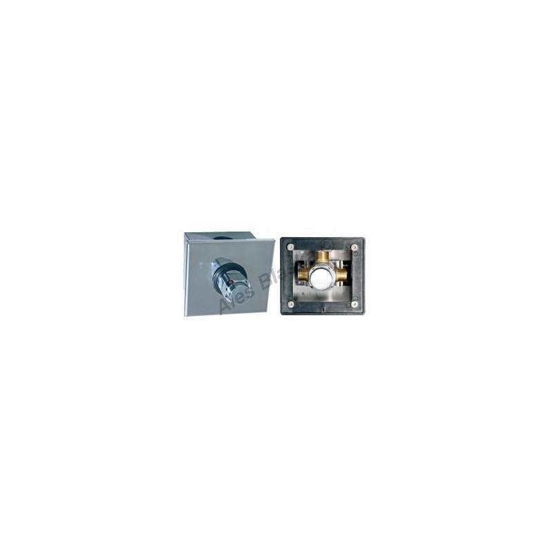 MCM 9985 C nerezový box pro sprchové baterie - časová ,tlačná, tlačítková