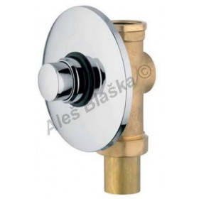 MCM 9455 vestavný samouzavírací splachovací ventil pro WC - časová ,tlačná, tlačítková