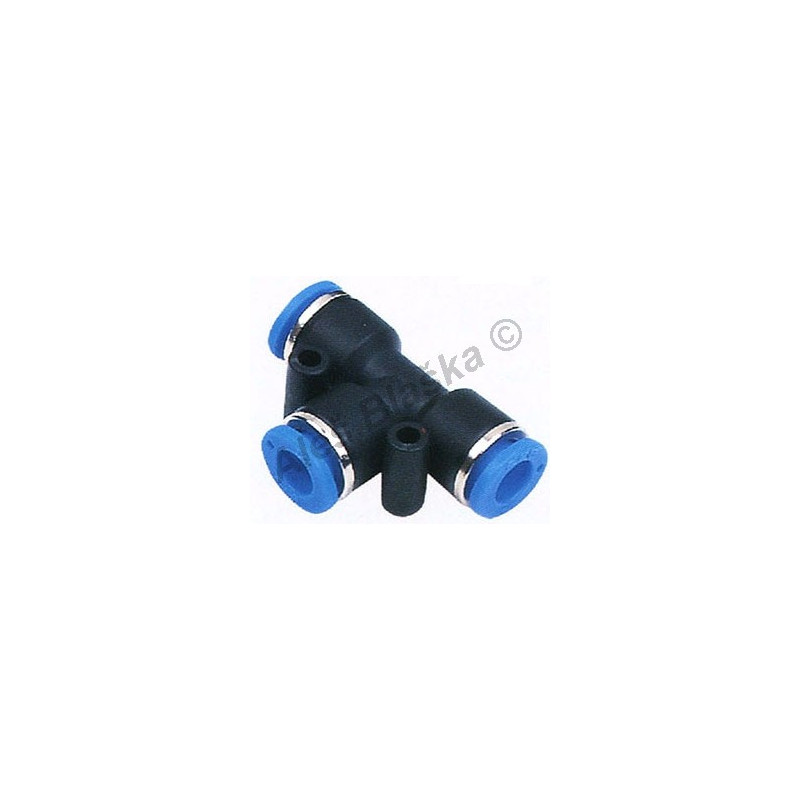 Pneumatická nástrčná spojka T-kus EPE na vzduch (rychlospojka)