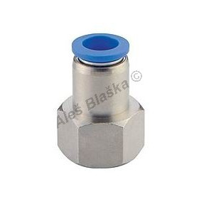 Pneumatická nástrčná spojka EPCF přímá vnitřní kovová na vzduch (rychlospojka)