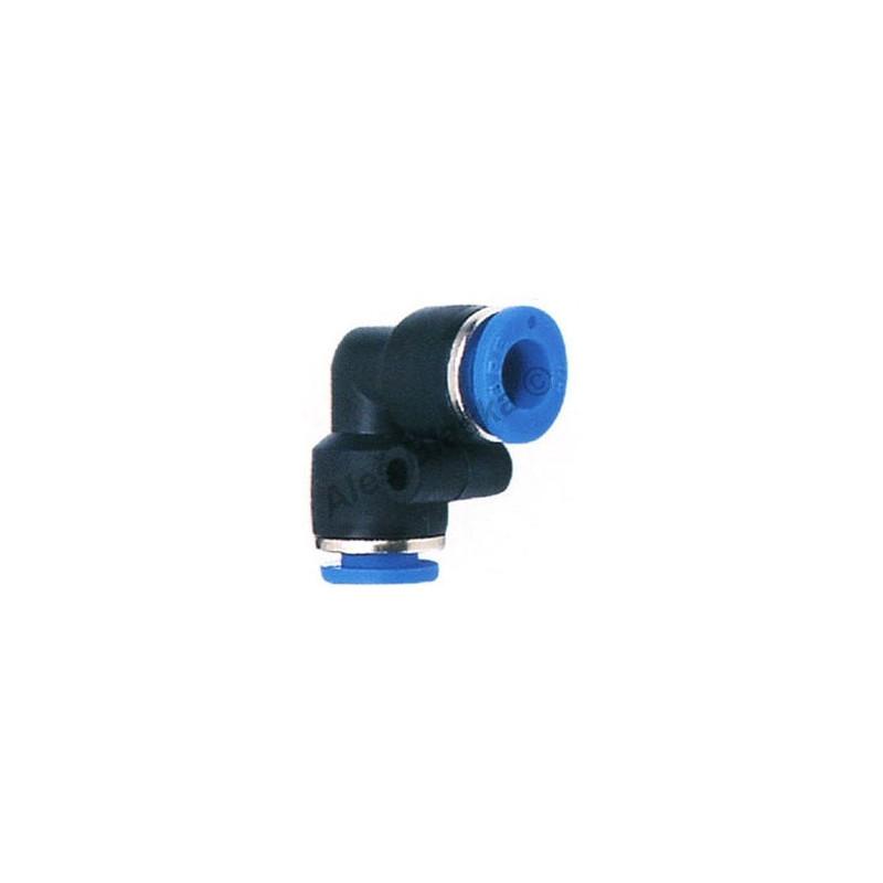 Pneumatická nástrčná spojka EPV úhlová (kolínko) na vzduch (rychlospojka)