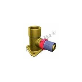 Lisovací nástěnka prodloužená 53mm, PRESS pro PEX-AL,plastohliníkové trubky