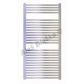 CS Koupelnový radiátor (žebřík) rovný barva CHROM