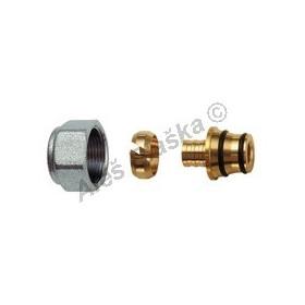 Adaptér (připojení) pro připojení vícevrstvých trubek (svěrné šroubení) eurokonus
