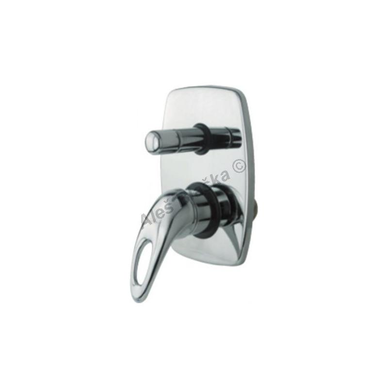 GEOS GS 5970 páková sprchová vestavná s přepínačem (vodovodní baterie)