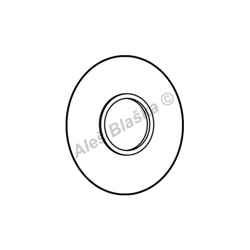A2763 krytka k vestavnému splachovacímu ventilu RIVER R732/8 (náhradní díl)