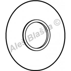 A2785 krytka k vestavěným sprchovým bateriím RIVER R7500 kulatá (náhradní díl)