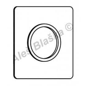 A2786 krytka k vestavěným sprchovým bateriím RIVER R7510/42 dvouotvorová (náhradní díl)