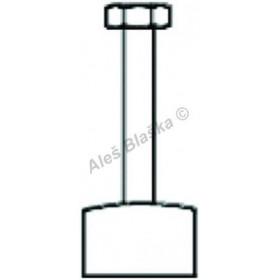 R072 připojovací trubička k pisoáru pro baterie RIVER R00730, R3730 (náhradní díl)
