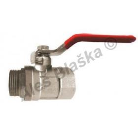 Kulový kohout (ventil) s pákou MF plnoprůtokový voda