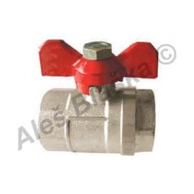 Kulový kohout (ventil) s motýlem FF plnoprůtokový voda