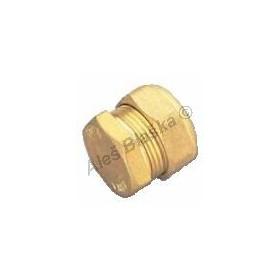 Zátka (záslepka), použití pro měděné trubky