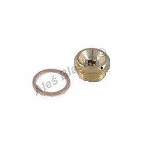 Odvzdušňovací ventil s měděným těsněním (odvzdušňovák)