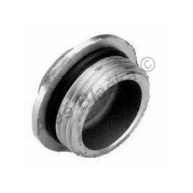 Záslepka (zátka) niklovaná pro rozdělovače, s O-kroužkem