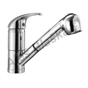 UNIVERSAL GU 4940 vodovodní baterie páková stojánková dřezová s výsuvnou sprchou (vytahovací sprškou)