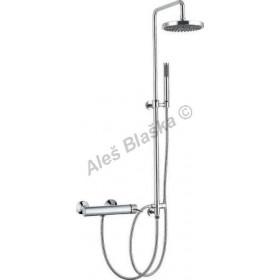 Posuvná sprchová tyč - sprchový komplet (posuvný držák sprchy)