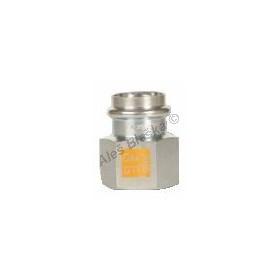 uhlík.ocel přechodka s vnitřním závitem FxFil.F , lisovací, PRESS, C-STEEL GAS (plyn)