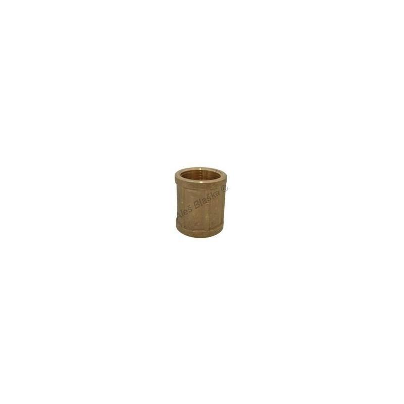 Hrdlo (nátrubek, mufna) mosazný - MOSAZ