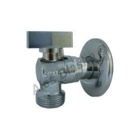"""Rohový kulový pračkový kohout (ventil) 1/2""""x3/4"""" (roháček) k pračce"""