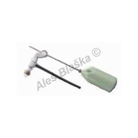 Plovákový ventil boční k WC excentrický (napouštění záchodu)