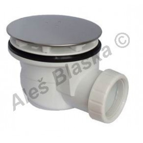 EWN0840 Sifon vaničkový 90 INOX (nerez) (odpad pro sprchové vaničky)