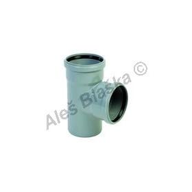 HTEA odbočka 87° (HT kanalizační odpadní systém)