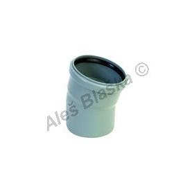 HTB koleno 15° (HT kanalizační odpadní systém)