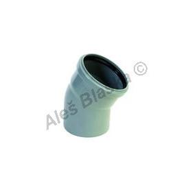 HTB koleno 30° (HT kanalizační odpadní systém)
