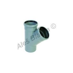 HTEA odbočka 45° (HT kanalizační odpadní systém)