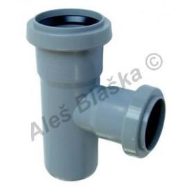 HTEA odbočka redukovaná 87° (HT kanalizační odpadní systém)