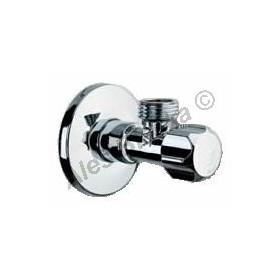 """vřetýnkový rohový ventil 1/2""""x1/2"""" bez matky (roháček, ventil k baterii)"""