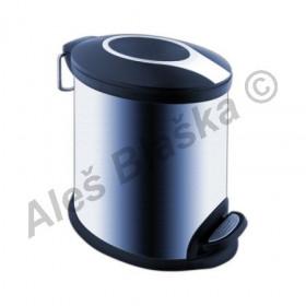 Koš na odpadky nerezový KOS 6005 - NIMCO (odpadkový koš nerez)