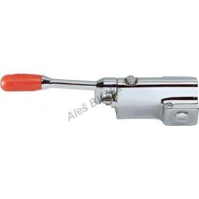 R 2510 Pedálový směšovací ventil podlahový s regulací průtoku (nášlapná, pedálová, nožní vodovodní baterie)