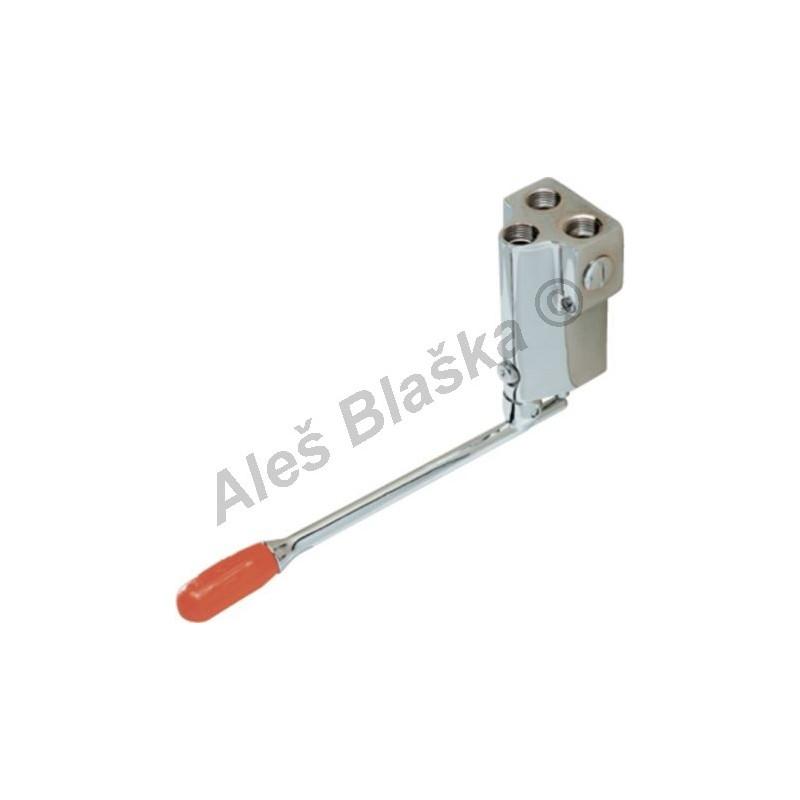 R 2520 Pedálový směšovací ventil nástěnný s regulací průtoku (nášlapná, pedálová, nožní vodovodní baterie)