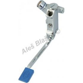 R 502 Pedálový výtokový ventil nástěnný s regulací průtoku (nášlapná, pedálová, nožní vodovodní baterie)