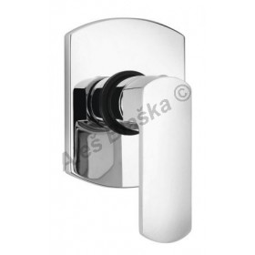 OVO 86.690 baterie páková sprchová vestavná bez přepínače (vodovodní baterie)