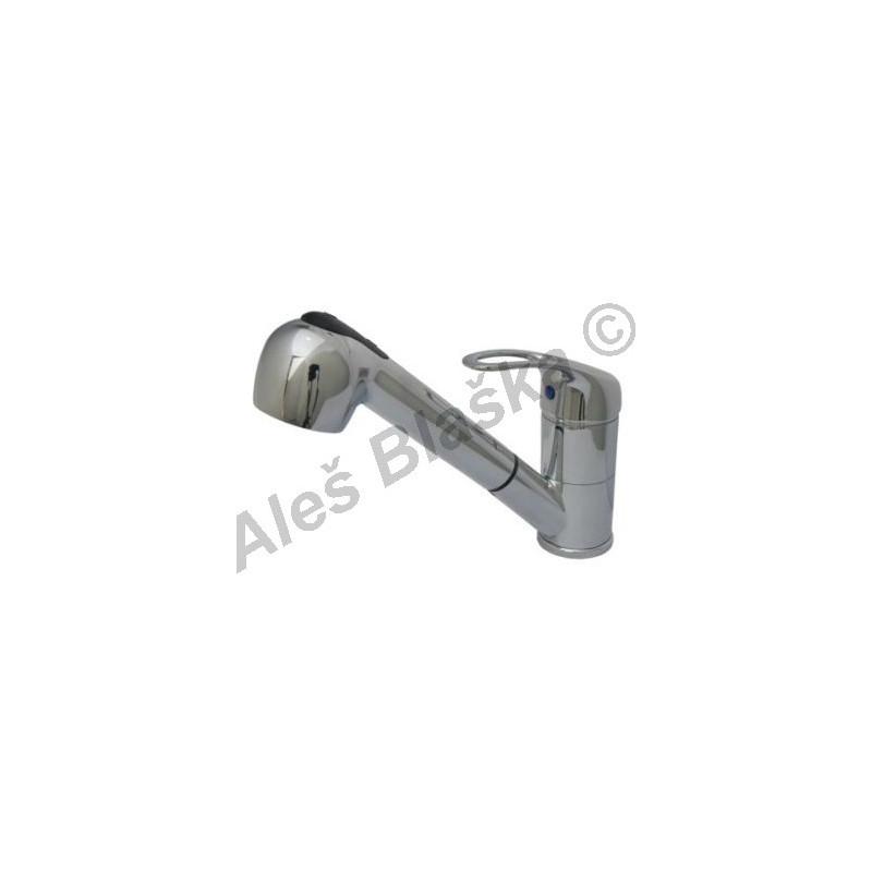 ELLE EL 2050 vodovodní baterie páková stojánková dřez s výsuvnou sprchou (vytahovací sprškou)