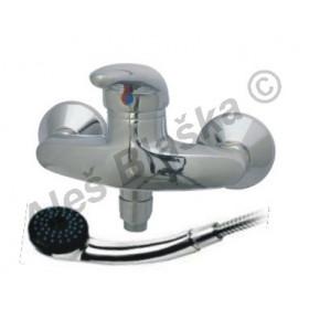 TOP 1245 vodovodní baterie páková nástěnná sprchová s přísluš