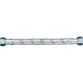 """Nerezová připojovací opletená flexi hadička 1/2""""Mx1/2""""M (propojovací hadice na vodu)"""