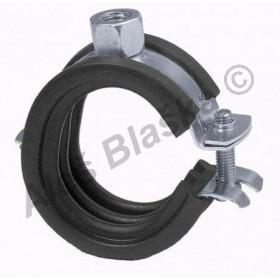 Instalační objímka upínací jednošroubová na potrubí (trubku) příchytka držák trubky