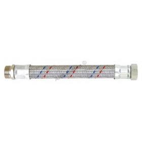 """Antivibrační nerezová opletená flexi připojovací hadička GIGANT 1""""Šx1""""M propojovací hadice na vodu"""