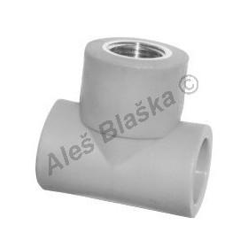 PPR T-kus MS ZD závit vnitřní tvarovka plastová navařovací