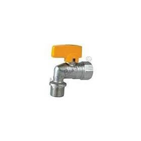 Kulový kohout (ventil) na plyn rohový s motýlem MF (plynový)